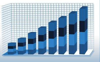 Increase In Sales Graph From B2b Lead Generation Companies